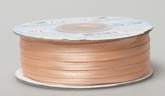 Лента атласная AL-3P 3мм*91,4м персиковый