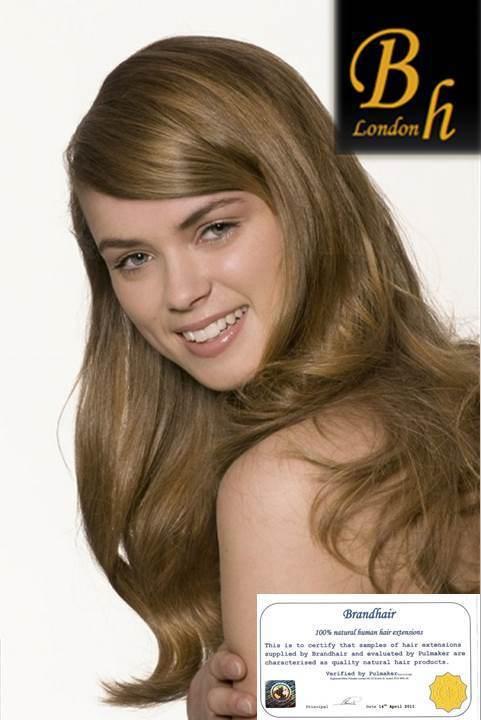 Волосы на заколках цвет #10-молочный шоколад