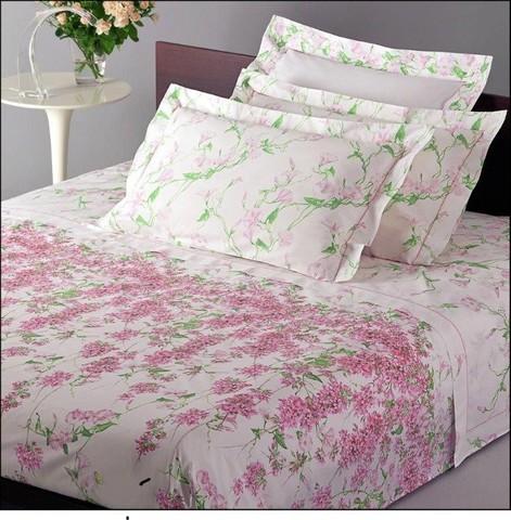 Постельное белье 1.5 спальное Mirabello Cascata di Fiori розовое