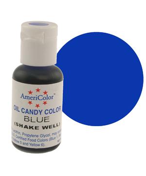 Краска для шоколада AmeriColor  BLUE, 19 гр.