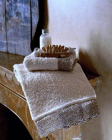 Набор полотенец 3 шт Cassera Casa Alice Macrame шоколад