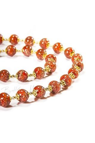 Ожерелье Amato красное