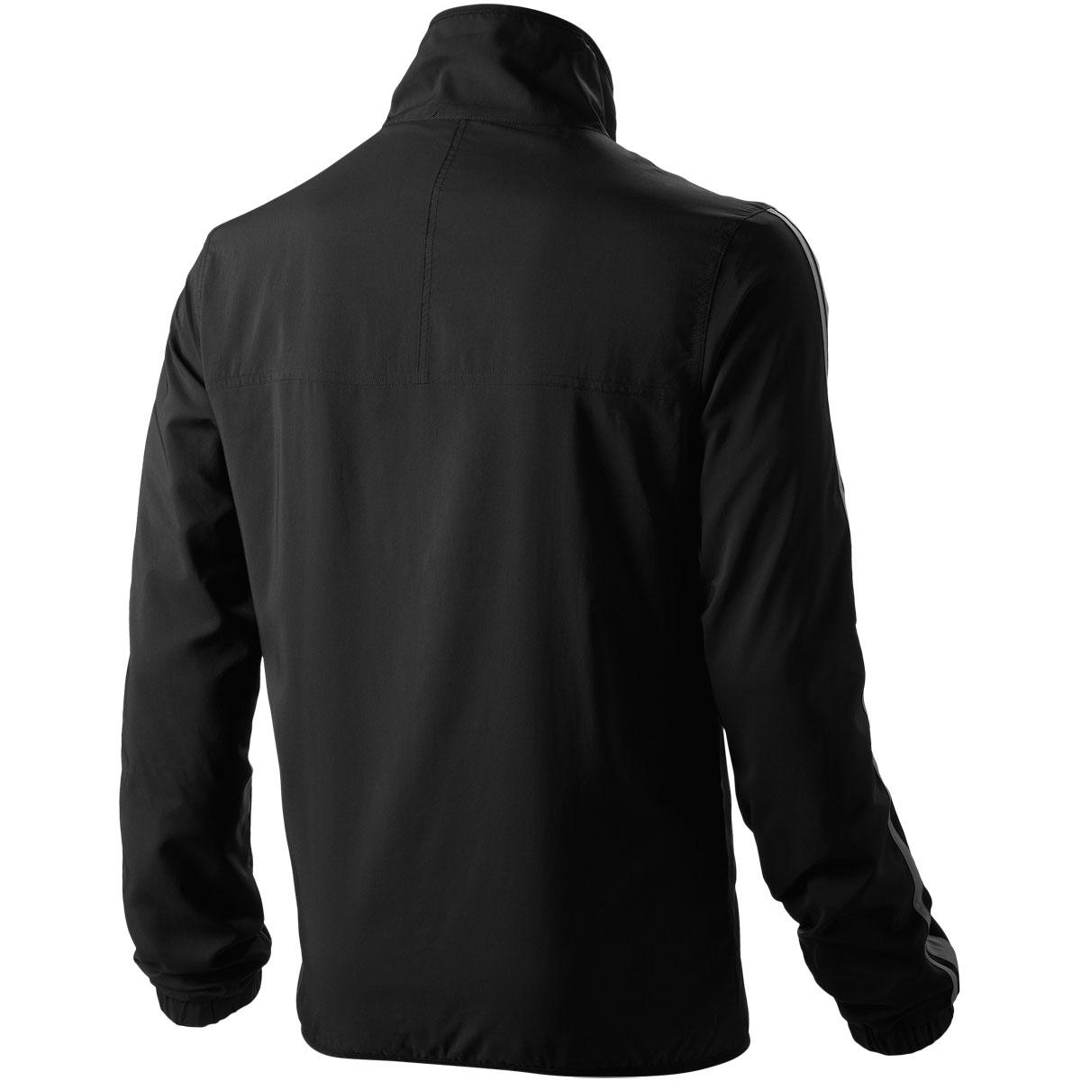 Мужская ветровка Asics Woven Track Jacket черная  (113154 0904) фото