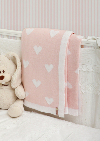 Плед детский 100х150 Luxberry Imperio 243 розовый