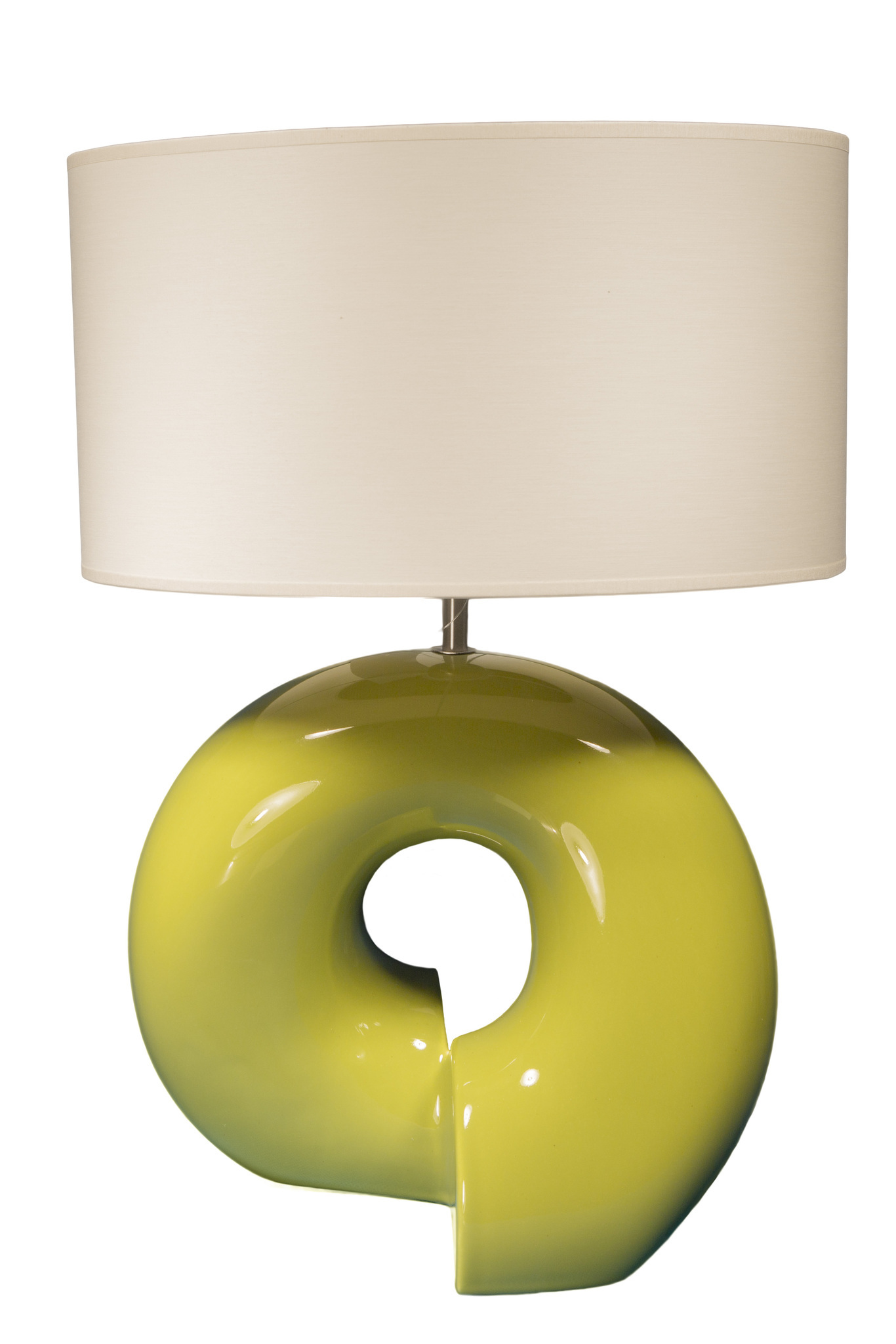 Элитная лампа настольная Визеу зеленая от Sporvil