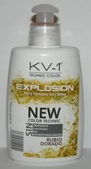 Tinte Explosion Rubio Dorado-  тонирующая маска для волос. Глубокий яркий медно-золотой