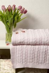 Плед детский 100х150 Luxberry Imperio 36 розовый