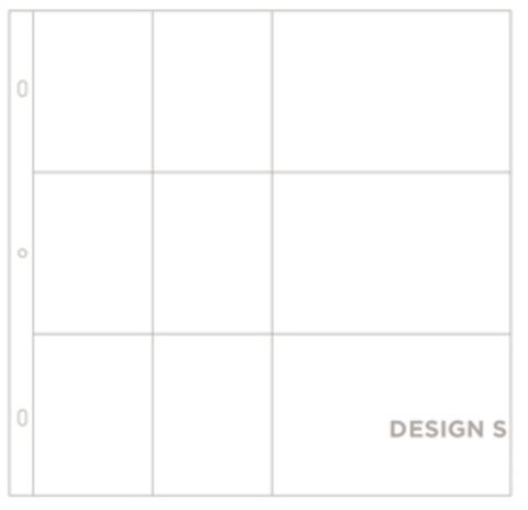 Фотофайлы Project Life-Дизайн S-штучно