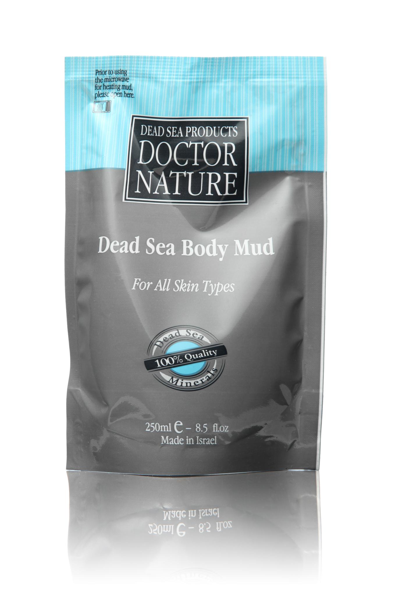 Doctor Nature грязь Мертвого моря 250 мл.