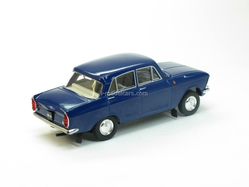 Moskvich-408 Elite blue 1:43 Nash Avtoprom
