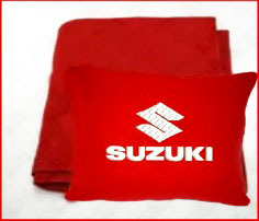 Плед в чехле с логотипом Suzuki