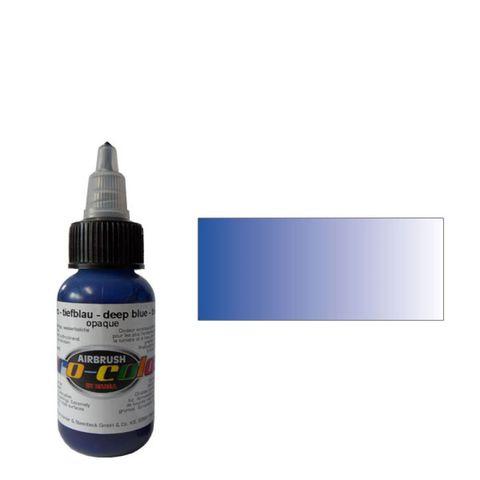 60011 Краска для аэрографии Pro-Color Deep Blue СИНИЙ ГЛУБОКИЙ 30мл. укрывистый