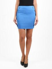 2145 юбка синяя