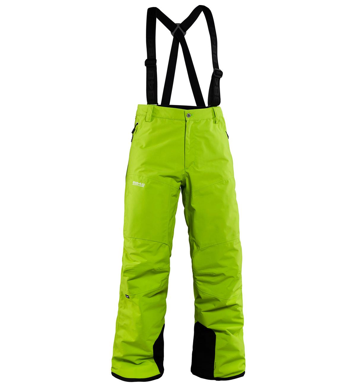 Мужские горнолыжные брюки 8848 Altitude ZIG  Lime (773583)