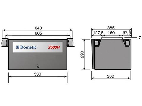 Генератор бензиновый Dometic T 2500H