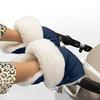 Муфта - рукавички Esspero Christer для коляски (Натуральная шерсть) Navy