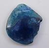 Подвеска Агат (тониров) (цвет - сине-голубой) 60х48х8,7 мм №16