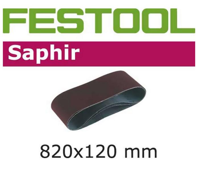 Лента шлифовальная L820x120/P80 Festool 488082