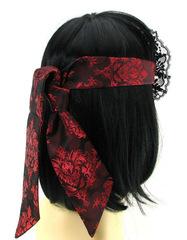 БДСМ маска на глаза Scandal Eye Mask атласная