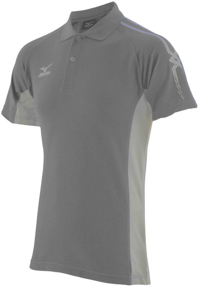 Поло Mizuno Team Polo 150 grey