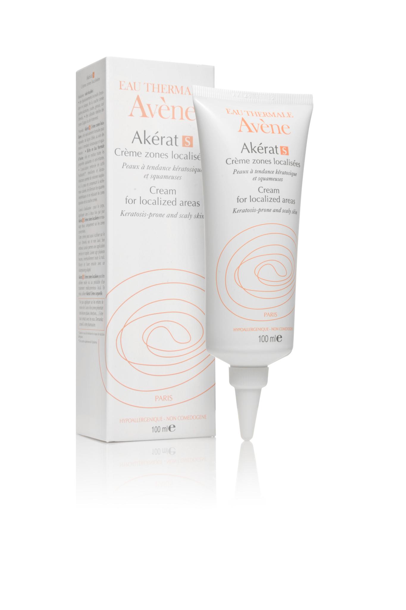Avene Akerat S крем для локального нанесения на зоны с уплотнением и шелушением 100 мл.
