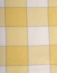 Элитный плед детский хлопковый Vanessa жёлтый от Luxberry