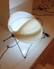 лампа   moon by verner panton белая