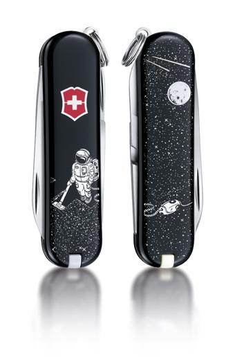 "Нож-брелок Victorinox Classic LE 2014, 58 мм, 7 функ, ""Space Cleaner""  (0.6223.L1408)"