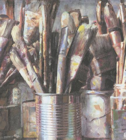 Обои Andrew Martin Attic Paintbox Multi (комплект из 2 рулонов), интернет магазин Волео