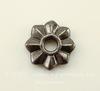 """Элемент под заклепку TierraCast """"8 Point"""" (цвет-черный никель) 10 мм"""
