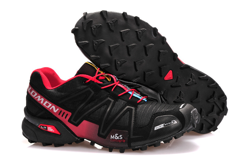 Кроссовки Salomon Speedcross 3 red