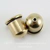 "Концевик для шнура 8 мм TierraCast ""Купол"" (цвет-античная латунь) 12х11 мм"