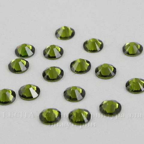 2058 Стразы Сваровски холодной фиксации Olivine ss 20 (4,6-4,8 мм), 10 штук ()