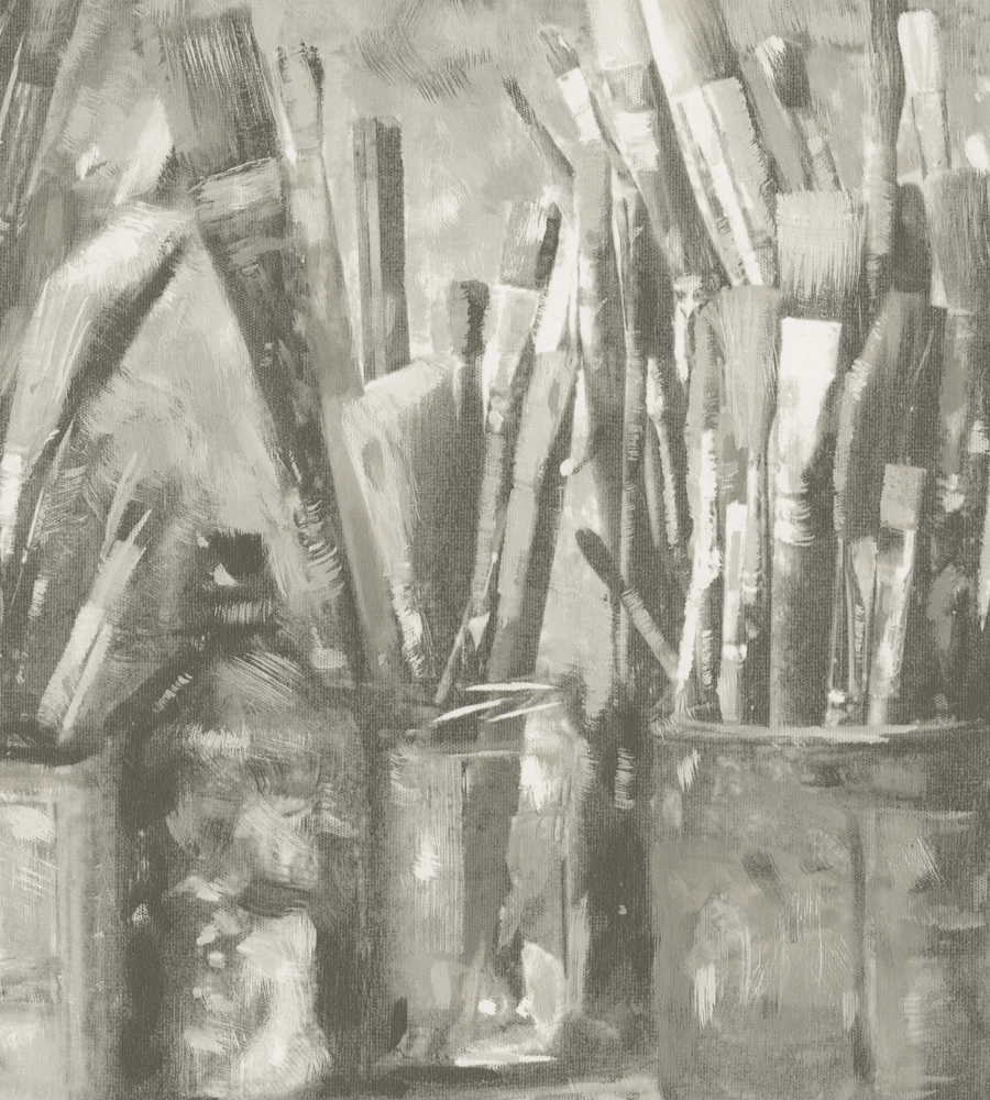 Обои Andrew Martin Attic Paintbox Sepia (комплект из 2 рулонов), интернет магазин Волео
