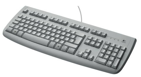LOGITECH Deluxe 250 PS/2 White