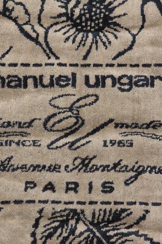 Набор полотенец 2 шт Emanuel Ungaro Fleur серый
