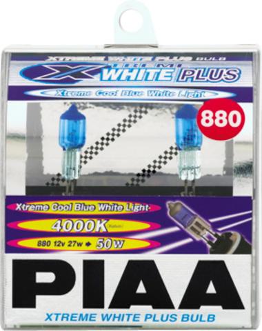 Галогенные лампы PIAA H27 H-402E (4000K) Xtreme White Plus