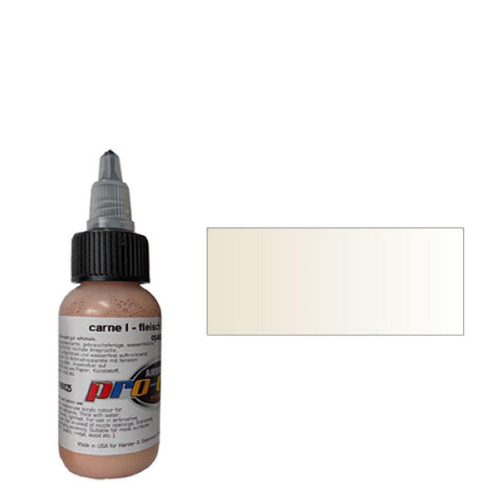 60025 Краска для аэрографии Pro-Color Flesh I (ТЕЛЕСНЫЙ №1) 30мл. укрывистый