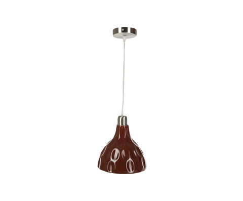 Подвесной светильник Камбра красный от Sporvil