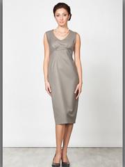 P2071-7 платье серое