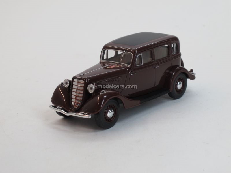 GAZ-M1 dark red 1:43 Nash Avtoprom
