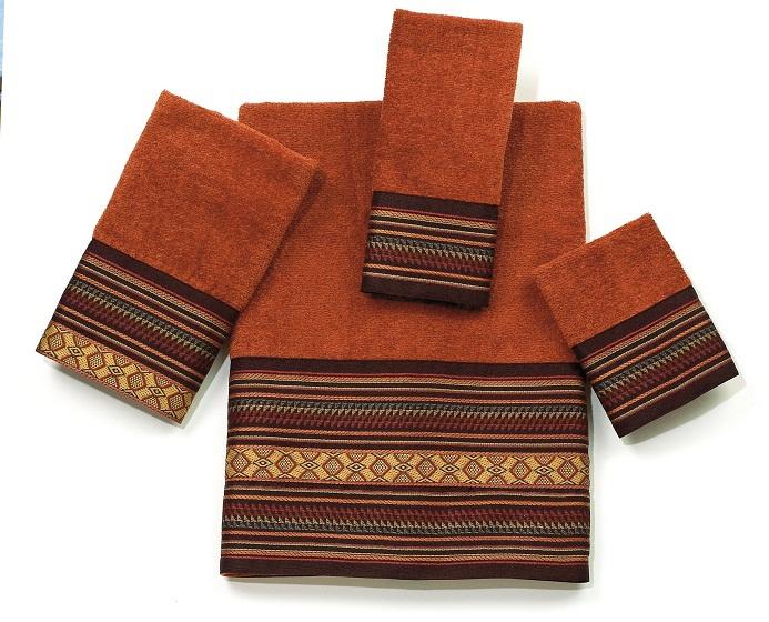Полотенце 41х76 Avanti Fiesta коричневое