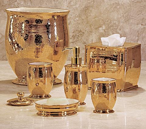 Набор элитных аксессуаров для ванной Anna Gold от Labrazel
