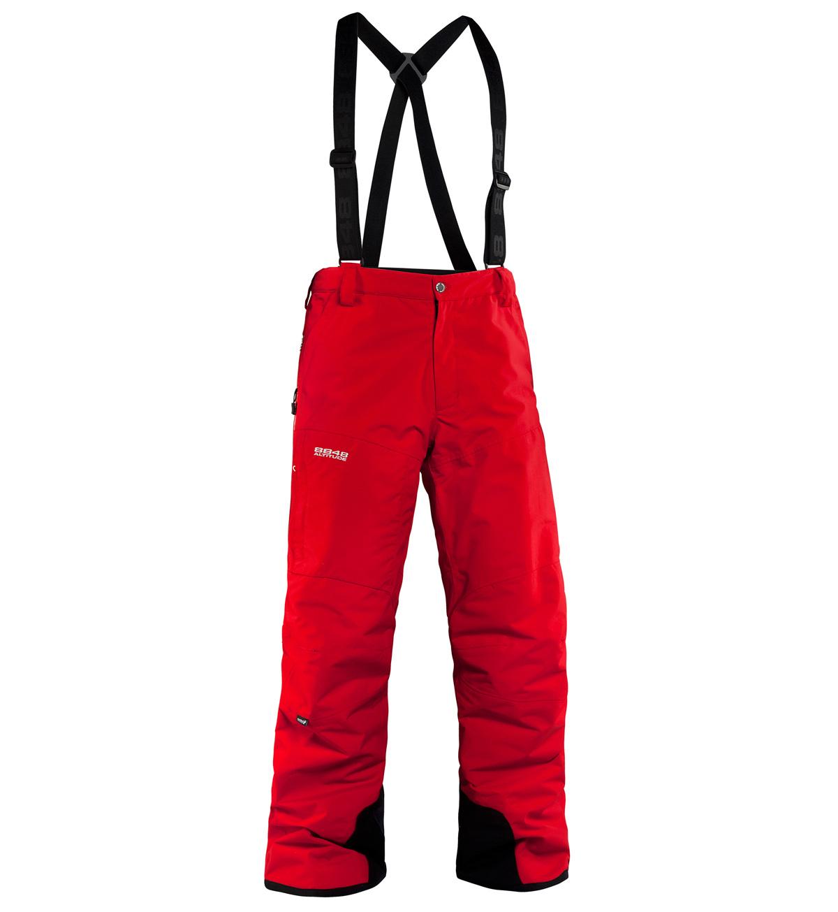 Мужские горнолыжные брюки 8848 Altitude ZIG  Red (773503)
