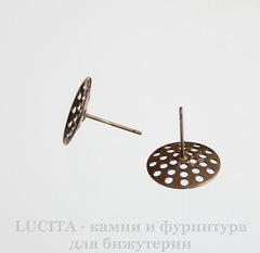 Пуссеты - гвоздики с круглой площадкой