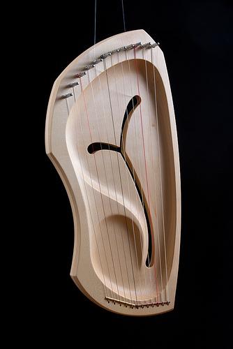 Лира диатоническая 12 струн (Auris)