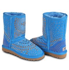 UGG & Jimmy Choo Snow Boots Mandah Blue