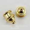 "Концевик для шнура 6 мм TierraCast ""Pagoda"" (цвет-золото) 13х10 мм ()"
