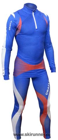 Лыжный гоночный комбинезон Craft Elite SMU сб.России