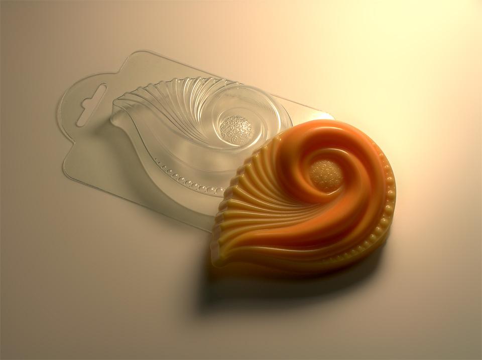 Солнечный ветер форма для мыла